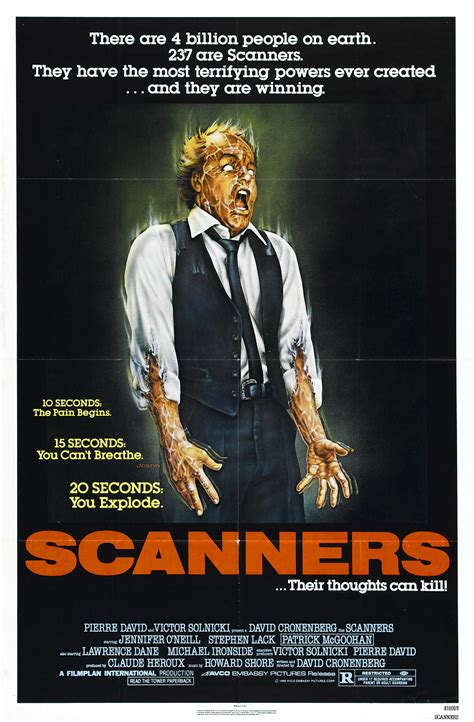 Scanners Meme - poster for scanners 1981 canada wrong side of the art