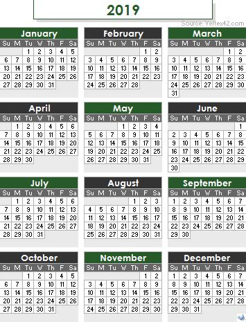 Calendario 2019 Colombia 2019 Calendar Templates And Images