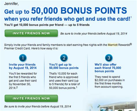 Marriot Mba Credit Requirement by Refer A Friend For The Marriott Credit Card Deals We Like