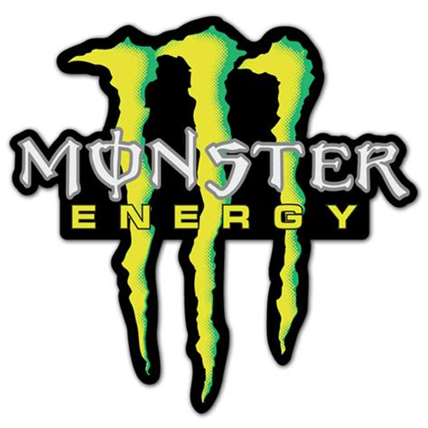 Monster Energy Sticker Auto by Car Location