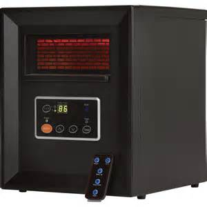 comfort zone infrared quartz heater 3413 btu 1000 watts