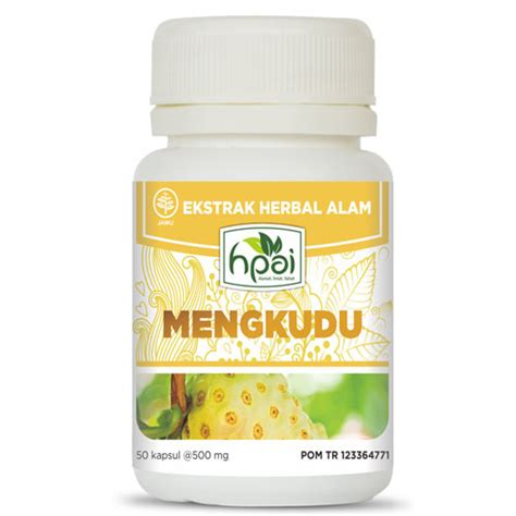 Mengkudu Ekstrak Herbal Alam Hpai mengkudu kapsul hpai produk hni hpai