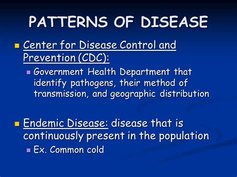 healthy living centers for disease control and prevention the nature of disease ppt video online download