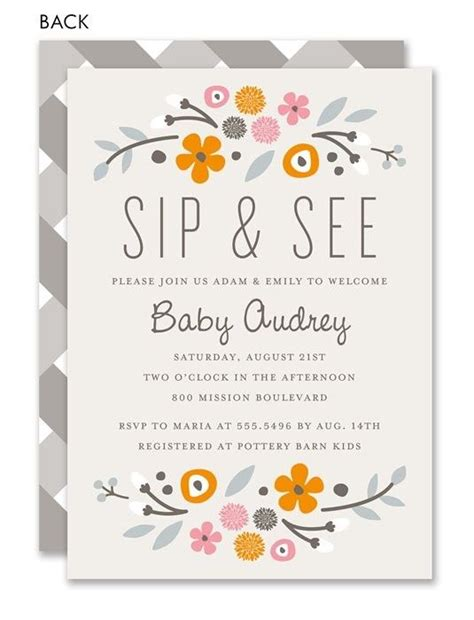 17 best images about sip and see on pinterest sip and see baby showers and invitations