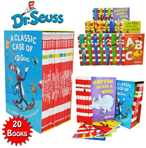 a classic of dr seuss 20 books box set pack