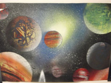 spray paint planets spray paint planets by 0melon0 on deviantart