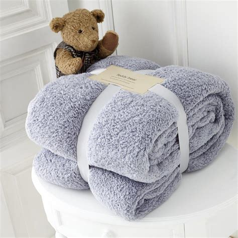 Soft Faux Fur Blanket by Teddy Collection Soft Faux Fur Throw Single Size