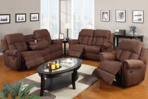 3 sofa set recliner with fold cup holders