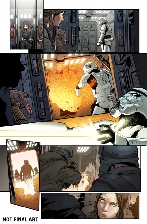 wars rogue one graphic novel adaptation books look wars rogue one adaptation 1 by houser