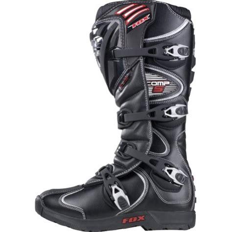 motocross boots size 10 fox racing comp 5 men s motocross motorcycle boots black
