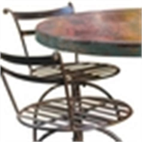Wagon Wheel Bar Stools by Wagon Wheel Bar Table And 4 Stools