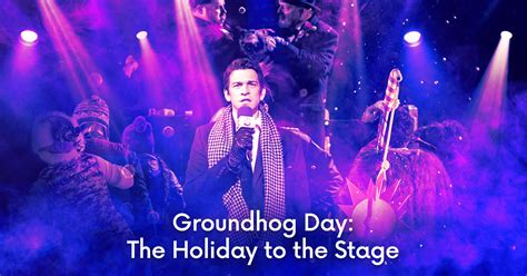 groundhog day the musical coming soon to broadway groundhog day the musical