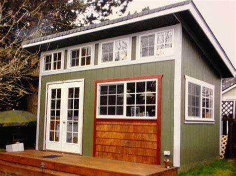 slant roof better built barns slant roof shed tiny houses