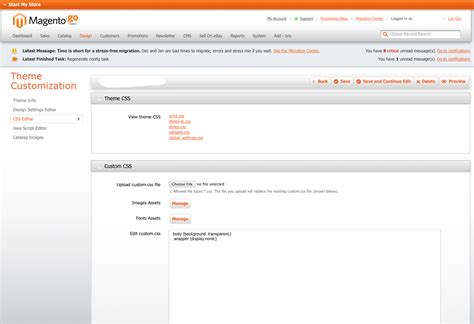 magento layout editor free migrating from magento go to magento community customer