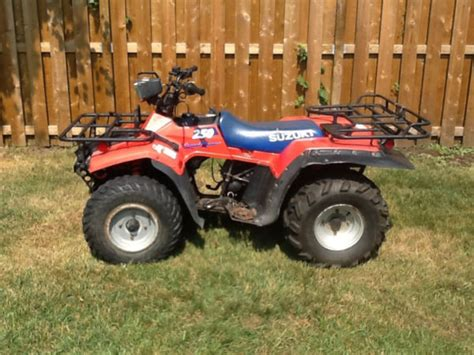 1985 Suzuki 250 Quadrunner 1992 Suzuki Quadrunner For Sale In Thunder Bay Ontario