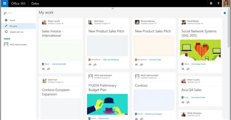 Office 365 Delve Microsoft Office Delve For Sharepoint Office 365 Sharegate