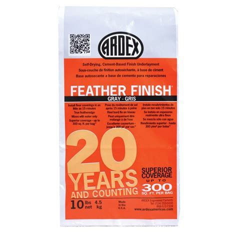 Ardex Feather Finish (Gray), 10 lb. Bag   Tools4Flooring.com