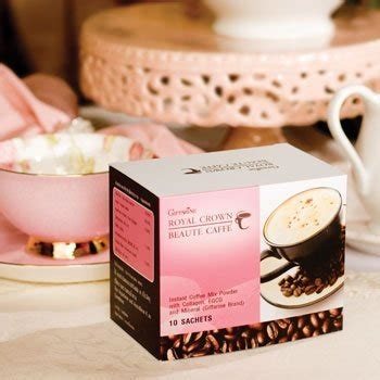Royal Collagen Cappuccino royal crown coffee products thailand royal crown coffee supplier