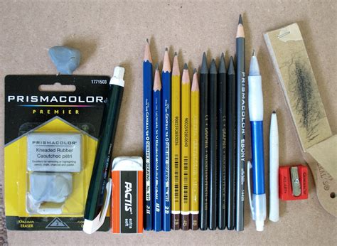 Drawing Supplies by Meramec Choice Drawing Studio