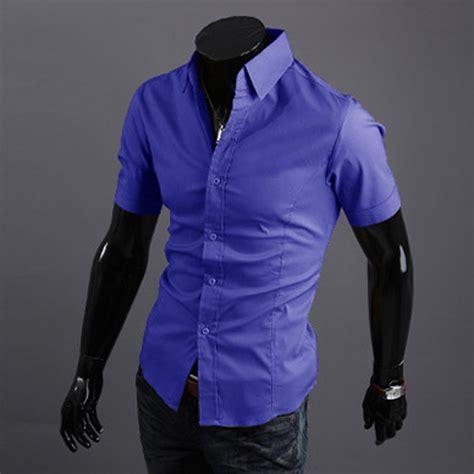 Sale Best Seller Dress Polos Ahzana Jersey Tg Panjang s luxury stylish casual button sleeve slim fit dress shirts tops ebay