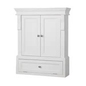 home decorators collection naples white wall cabinet the