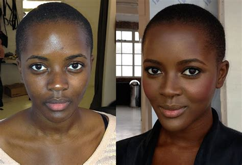 contouring for light brown skin dark brown highlight for brown skin tone male models picture