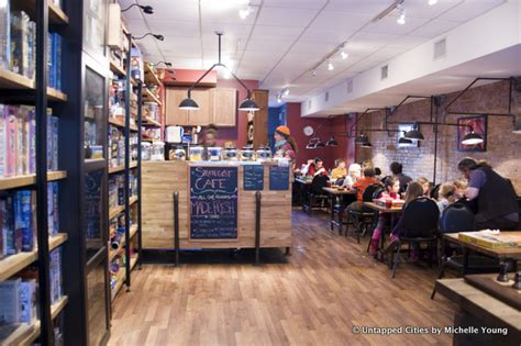 coffee shop in new york 7 combination bars and cafes in nyc barcade two boots