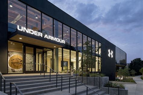 home design center portland or under armour opens performance innovation center in