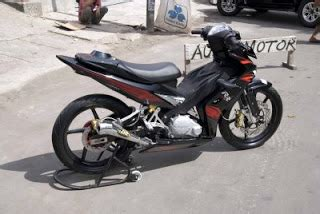 Breket Bok Jupiter Mx Lama motor jupiter z 135 cw black modification gambar foto