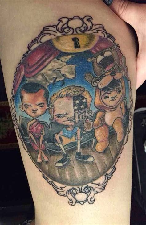 fall out boy tattoos 57 best must see fan tattoos images on fan