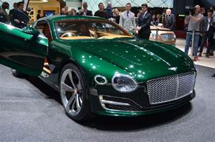 Bentley Cars Bentley Previews Future Sports Car With Stunning New