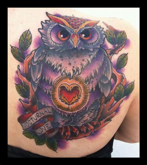 new school owl tattoo new school owl www pixshark images
