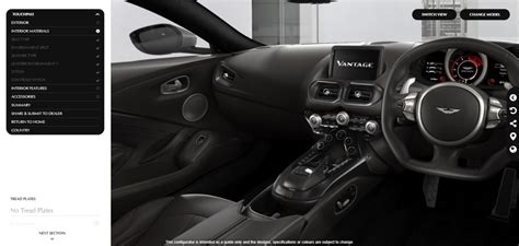 2019 Aston Martin Vantage Configurator by Aston Martin Launches New 2018 Vantage Configurator