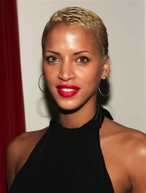 black women low cut hair styles low and blonde short blonde crop cut black hair