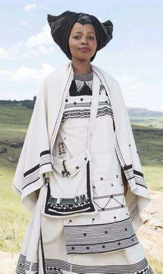 Wedding Attire Language by Xhosa And Groom In Traditional Xhosa Umbhaco