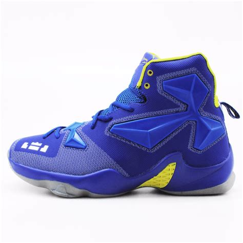 n basketball shoes s high quality sneakers blue yellow basketball boots