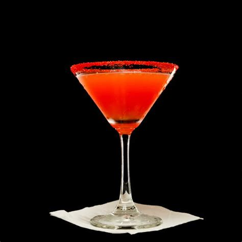 martini orange blood orange vodka martini
