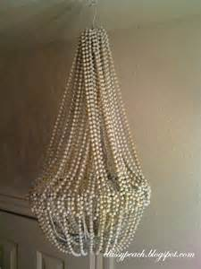 Bead Chandelier Diy Fabulous Diy Beaded Chandelier