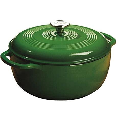 lodge color enamel 6 quart oven lodge color ec6d53 enameled cast iron oven emerald