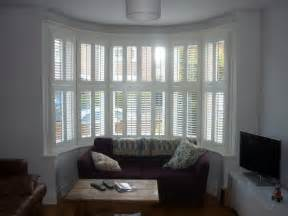 Luxury Venetian Blinds Plantation Shutters For Bay Windows Expression Blinds
