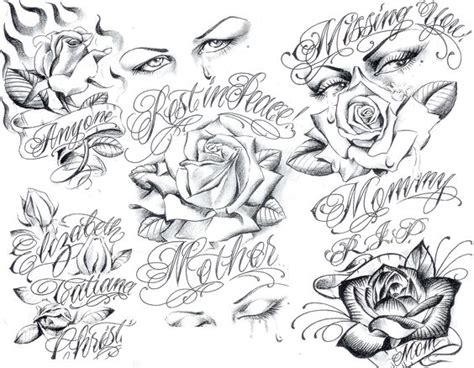 art gangster tattoo designs tattoo flash by boog