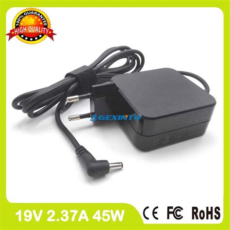 Asus Laptop Plugged In Not Charging Message 19v 2 37a 45w ac power adapter laptop charger for asus x202e x553ma u38n d553ma f302la f556u