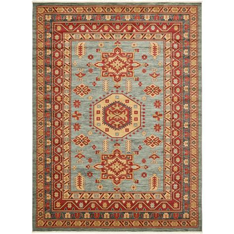 12 By 16 Area Rugs by Unique Loom Serapi Light Blue 12 Ft 2 In X 16 Ft Area