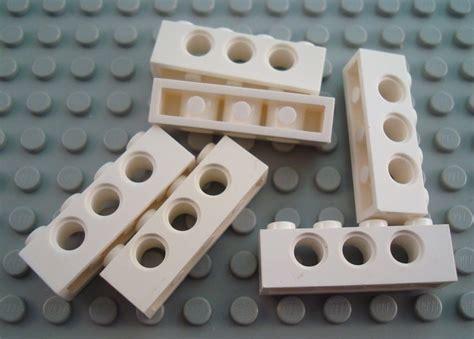 Lego Parts Lego Part 30136 4519970 Brown Palisade Brick 1x2 lego parts 30137 30136 1x2 1x4 log palisade bricks brown