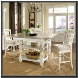 white counter height kitchen table foter