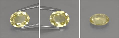 Yellow Safir Ceylon 02 harga batu green yellow chrysoberyl 0 68 karat asli sri