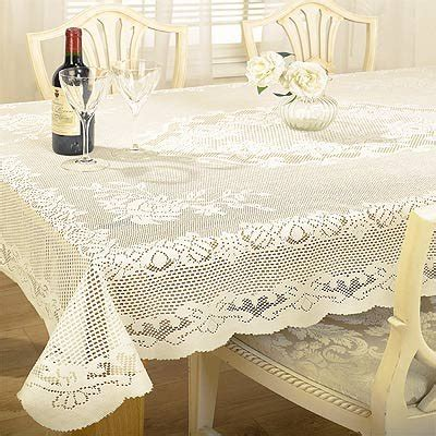 Lace Table Cloth 130180 Taplak Meja Shabby Chic 7 modi per interpretare il pizzo in modo romantico o