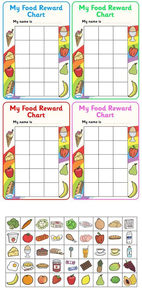 printable reward charts ks1 twinkl resources gt gt my food reward chart gt gt classroom