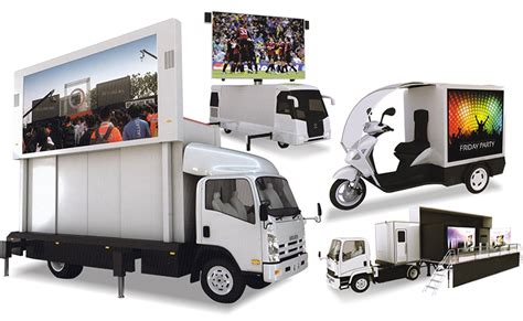 mobile by conduit globaltronics mobile led display