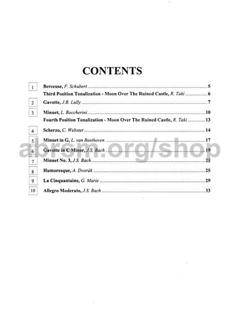 Suzuki Book 1 Songs Sheet Violin Suzuki Book Grosir Baju Surabaya